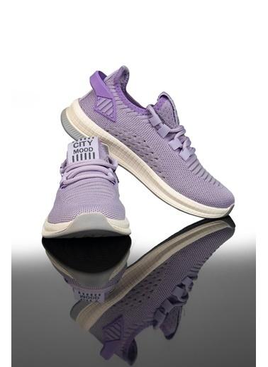 Letoon 2102K Kadın Spor Ayakkabı Lila